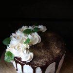choklad och vaniljtårta