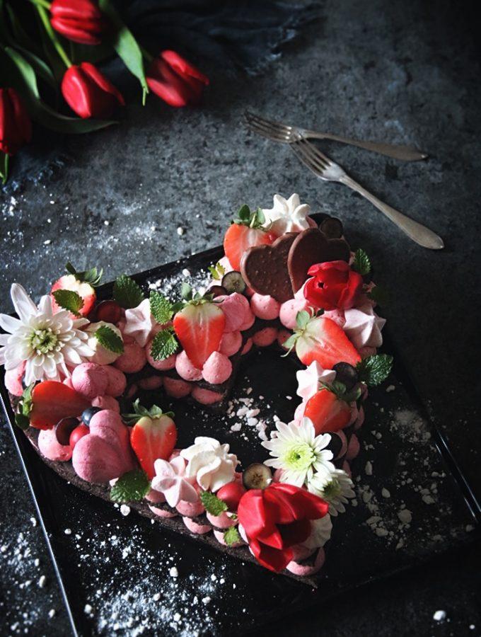 drömvacker tårta