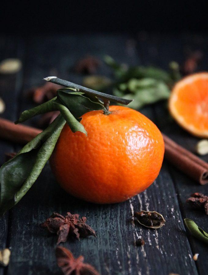 kryddig clementinkaka