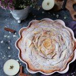 saftig och god äppelkaka