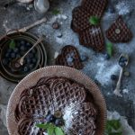 chokladvåfflor