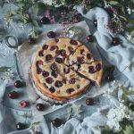 körsbär clafoutis med kardemumma