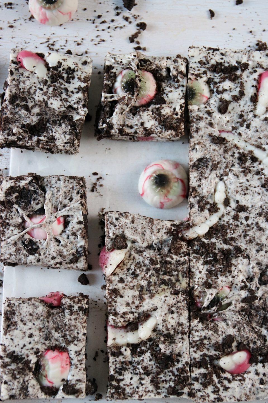 oreo och marshmallow bars