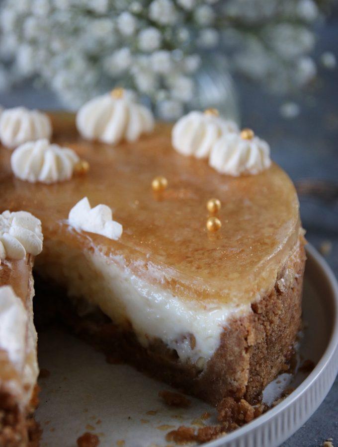 äppelpaj cheesecake