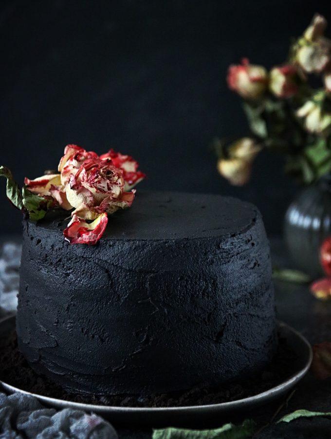 chokladtårta till halloween