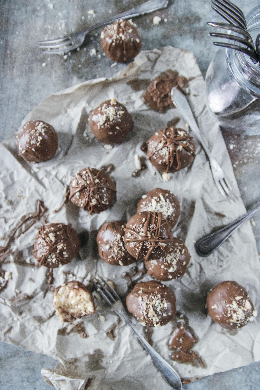 Chokladbollar med puffat ris