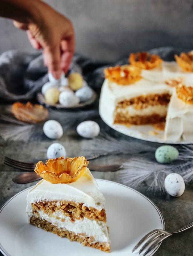 morotstårta med färskostkräm