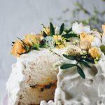 tårta med passion curd och chantilly kräm