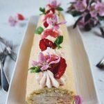 rulltårta med vit choklad