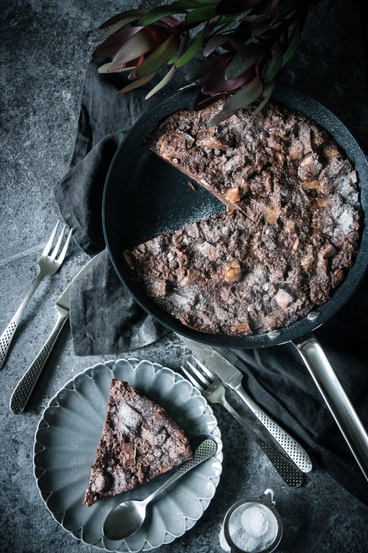 choklad brödpudding